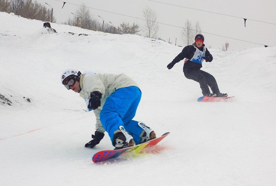 Афиша Тамбов Соревнования по горнолыжному спорту и сноуборду
