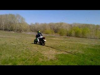 пробуем новую резину по грязи на racer nitro 200. р.Алей май 2015