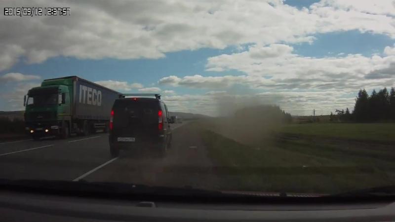 Авария на трассе р-239 между г. Альметьевск и с. Абдрахманово