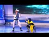 КВН - Москва не сразу строилась - Девушка впервые играет в Mortal Kombat