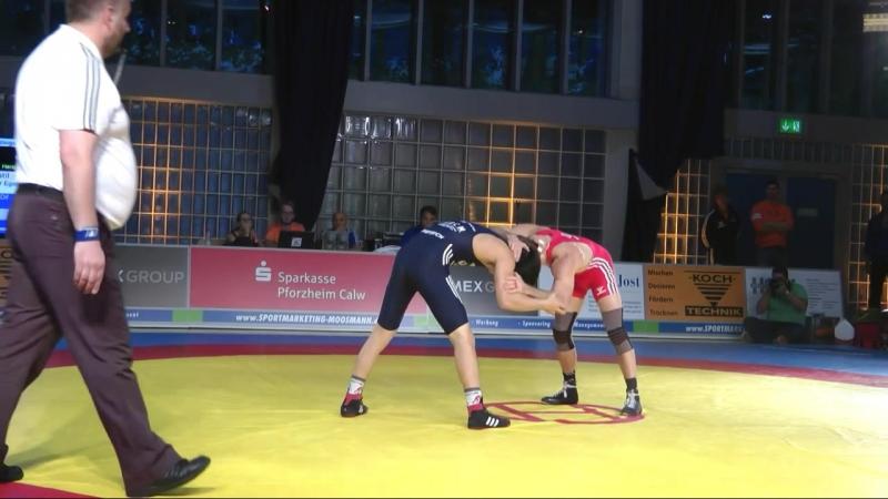 57 кг Марцел Эвальд (Германия) - Владимир Егоров (САХА СИРЭ) / KSV Ispringen - SVG Weingarten