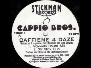 Cappio Bros. - Caffiene 4 Daze (Freshly Brewed Dub)