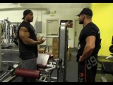 Mr. Olympia Phil Heath Trains Legs (Hamstrings) with Marc Lobliner 3 Weeks Out