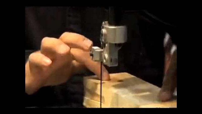 Электролобзик ленточный своими руками 173