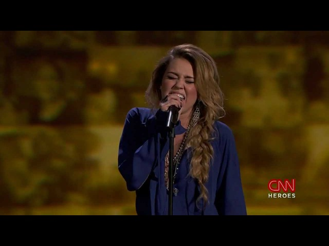 Miley Cyrus - The Climb. CNN Heroes An All-Star Tribute (11,Dec.2011)