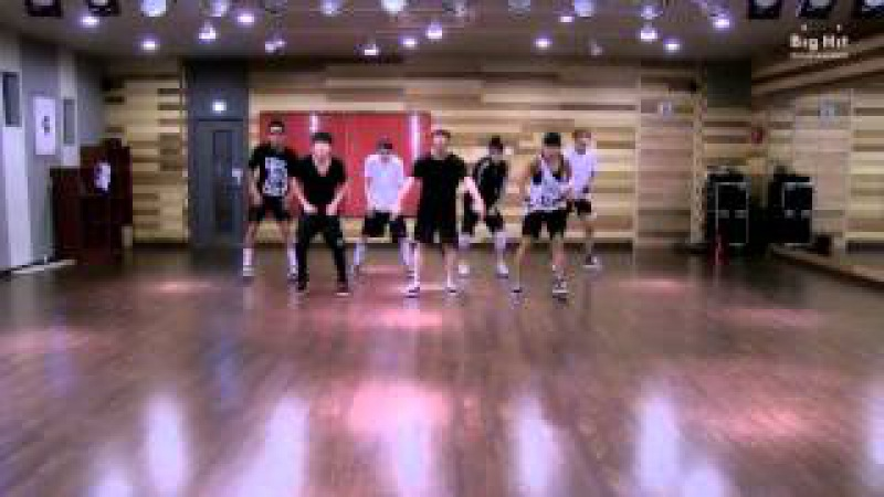 방탄소년단 We Are Bulletproof Pt.2 dance practice