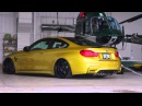 Bagged BMW M4 F82 Incurve Wheels AirLift JB4