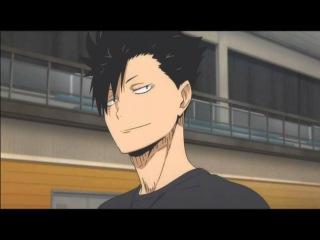 Смешной момент из аниме -Волейбол- #2