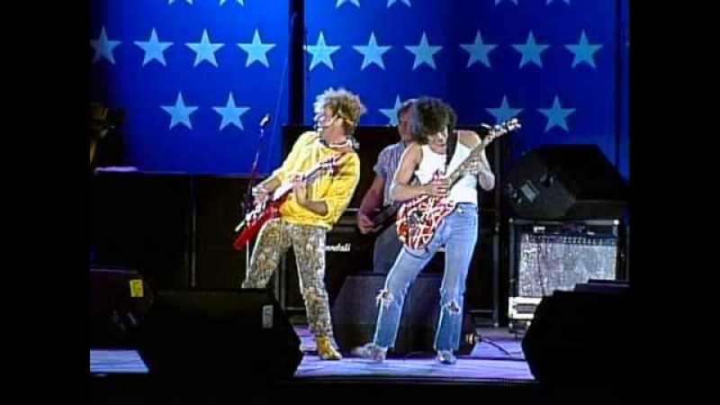 Sammy Hagar Eddie Van Halen - Rock and Roll (Live at Farm Aid 1985)