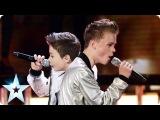 Bars &amp Melody perform Twista feat. Faith Evans's Hopeful  Britain's Got Talent 2014 Final