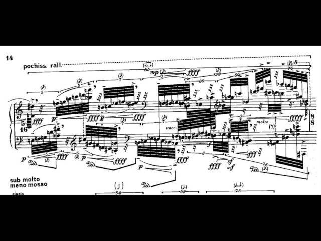 Brian Ferneyhough - Lemma-Icon-Epigram (w/ score) (for piano solo) (1981)