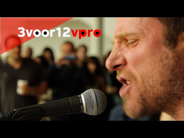 Sleaford Mods 3voor12 Sessie op Le Guess Who 2014