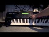 Yamaha V50 Demonstration - 4OP FM synthesis workstation with PCM drum samples