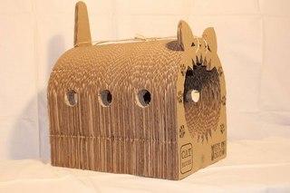 Картонные домики для котов