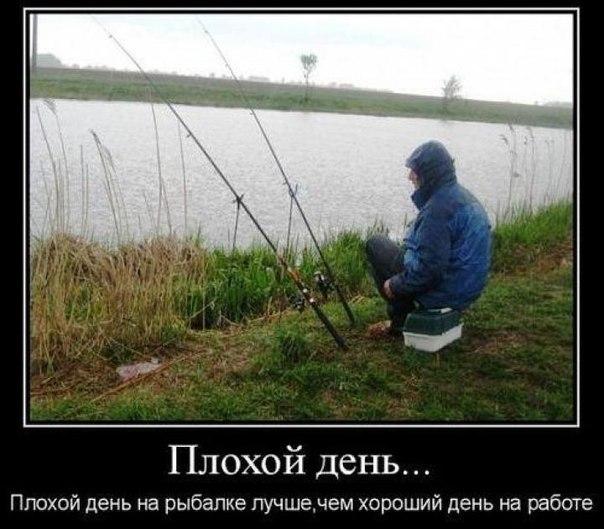 Демотиваторы про охоту и рыбалку 10