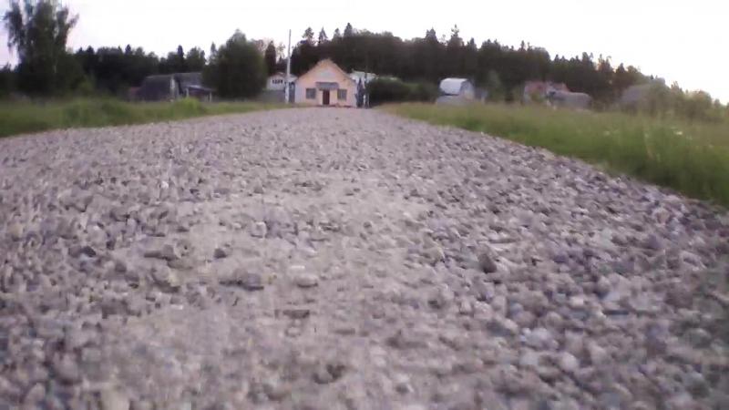 Виде с дачи, снятое на квадрокоптер летом 2015
