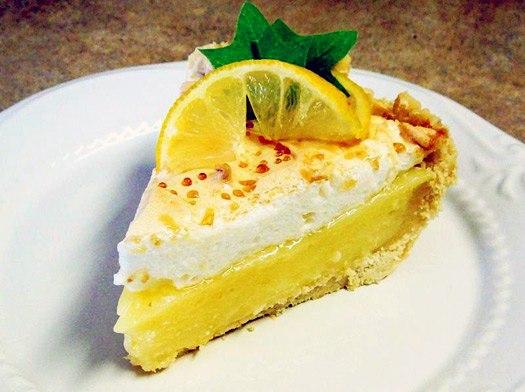 Лимонный пирог вкусный