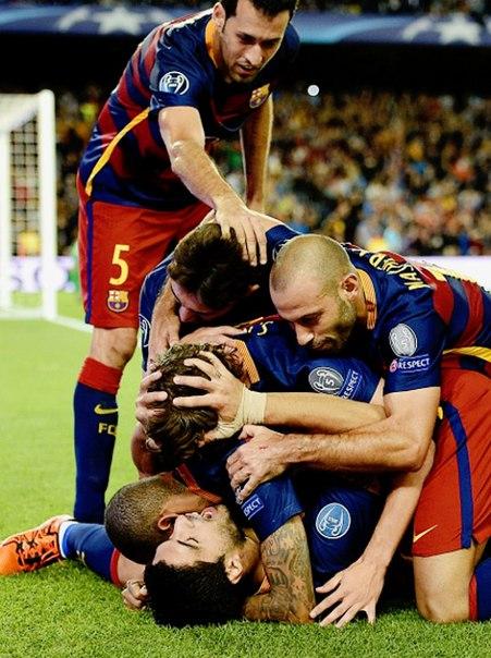Барселона - Байер 2:1