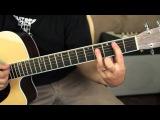 Nirvana - Where Did You Sleep Last Night - guitar lesson tutorial - leadbelly