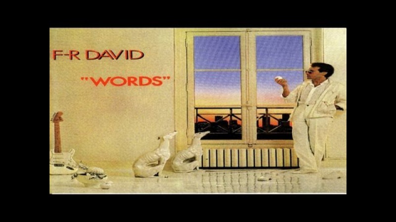 F R David Words don't come easy High Quality Official Music Video