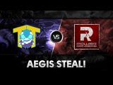 Aegis steal by Qojqva vs PR @ The Summit 2