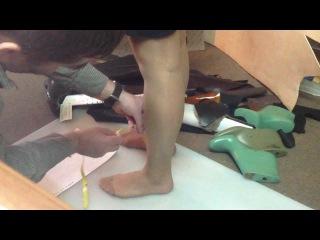 FiT-to-FeeT ЧАСТЬ 1. Снятие мерки ног для инд пошива обуви