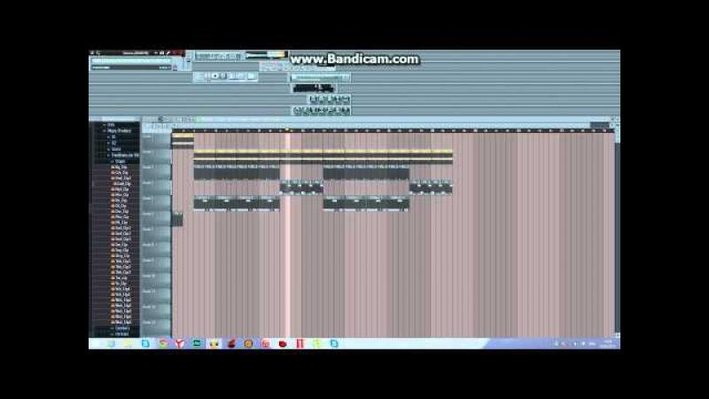 M.W.K.(V.M prod)- Tyga - Switch Lanes Feat The Game(Instrumental)Fl Srudio 11