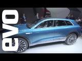 Audi E-tron Quattro Concept at Frankfurt  evo MOTOR SHOWS
