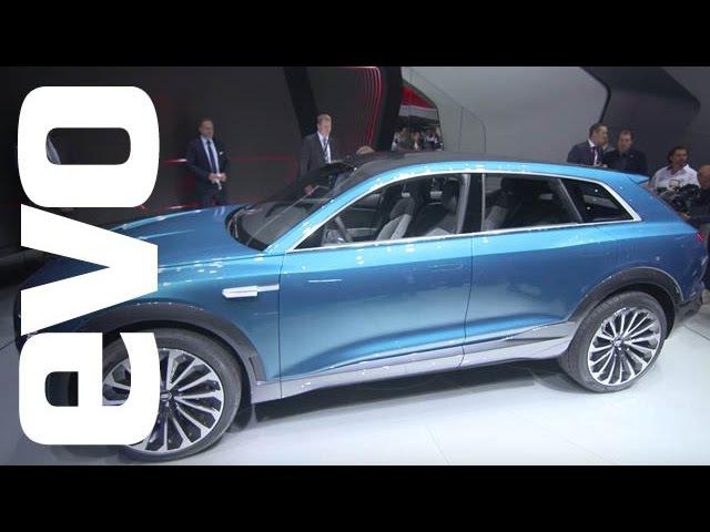 Audi E-tron Quattro Concept at Frankfurt | evo MOTOR SHOWS