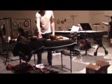 Xiu Xiu &amp Danh Vo performance at The Kitchen Gallery in New York City 2014