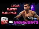 LUCAS MARTIN MATTHYSSE ✰ HIGHLIGHTS HD 2015