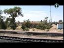 Россия из окна поезда. Волга и Прикаспий