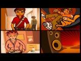 Создание анимационного флеш ролика Robin Vood music video