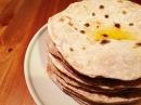 Индийский хлеб Чапати лепешки из пшеничной муки грубого помола