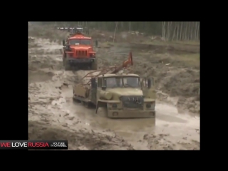 Compilation of Russian trucks in Extreme conditions 3  Российские грузовики NEW 2014