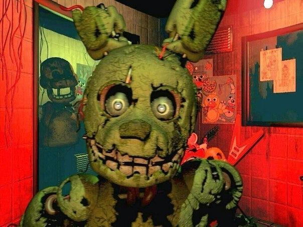 Пасхалки и мифы о Five nights Freddy-золотой бони