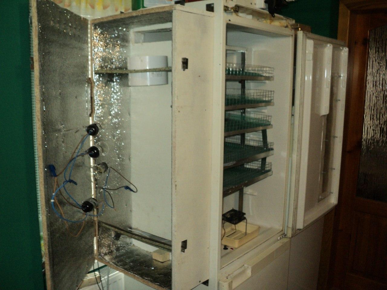 Как сделать холодильную камеру своими руками из холодильника 48