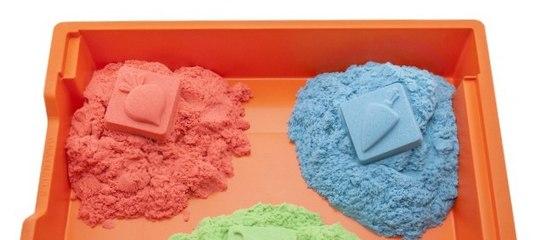 Как сделать кинетический песок своими руками