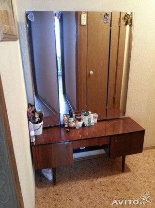 Декор трюмо с зеркалом