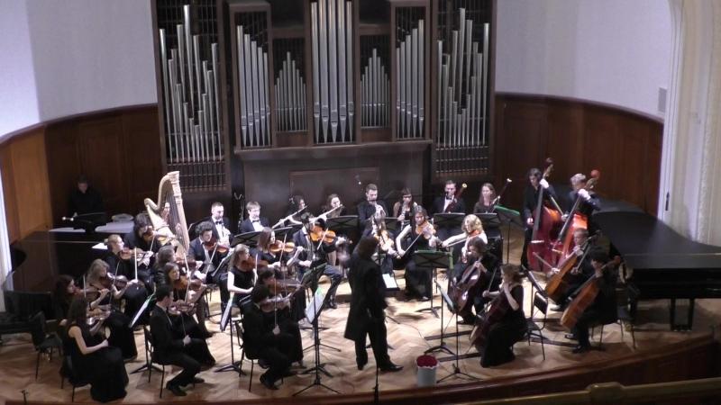 Г. МАЛЕР - Blumine (II часть Симфонии №1) Камерный оркестр Московской консерватории Дирижер –Феликс Коробов