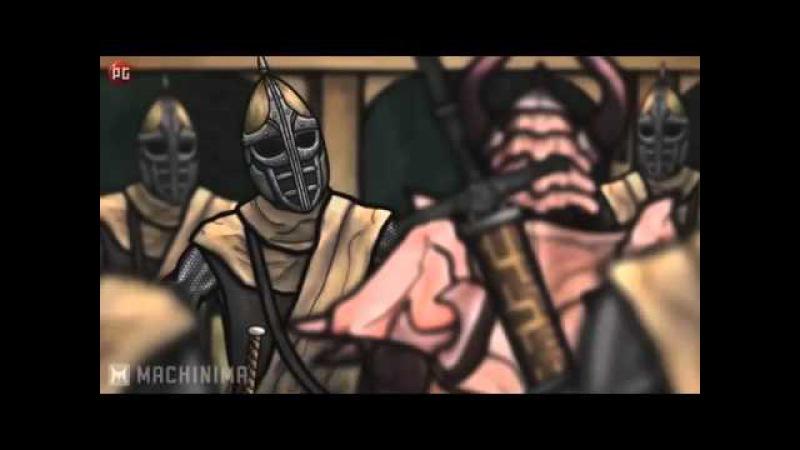 Старческие Каракули Пародия на Skyrim все серии подряд