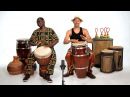 Djembe vs Conga African Drums
