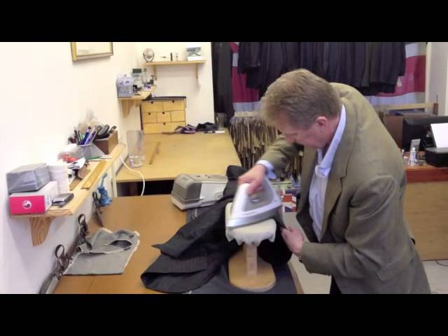 Pressing a Jacket