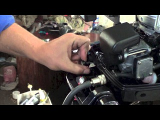 Обзор, первый пуск лодочного мотора Tohatsu M9,8 BS