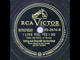 1947 Sammy Kaye - I Love You Yes I Do (Don Cornell &amp Kaydets, vocal) (restored)
