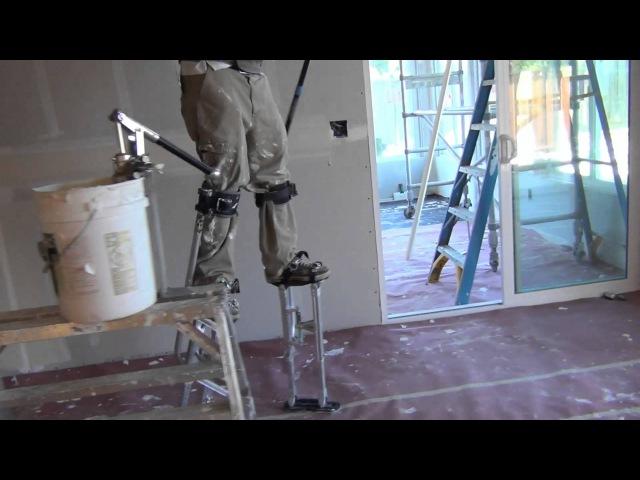 США 526: Как американские строители ходят на ходулях в рабочее время