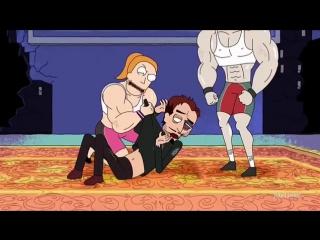 Rick and Morty - X Gon Give It To Ya, Рик и Морти Конец 9 серии (9 серия 1 сезон)
