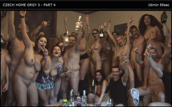 Czech Home Orgy 03 Part 4