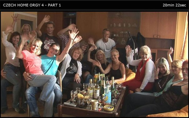 Czech Home Orgy 04 Part 1
