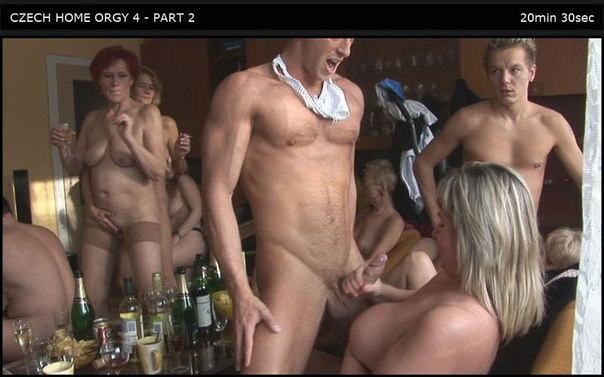 Czech Home Orgy 04 Part 2